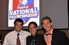 MU's Daktronics-NAIA Scholar Athletes: Senior Nick Batuello, junior Mitchell Trammel and senior Willie Jansen.