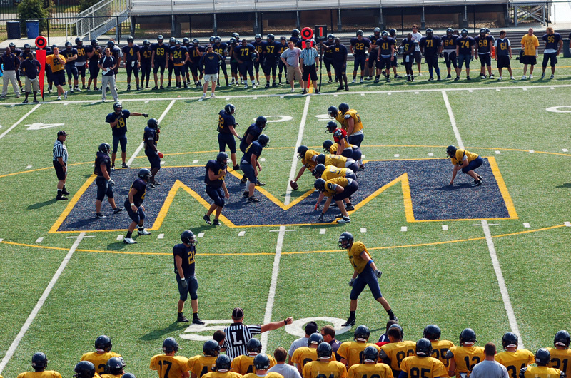 2nd Football Spring Scrimmage Photo