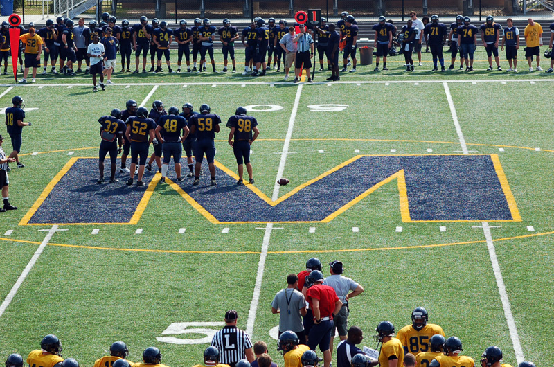 3rd Football Spring Scrimmage Photo