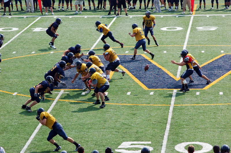 5th Football Spring Scrimmage Photo