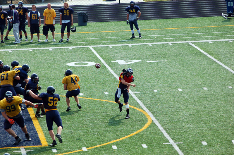 6th Football Spring Scrimmage Photo