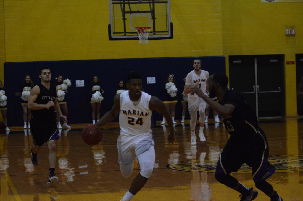 9th MBB vs. Defiance Photo