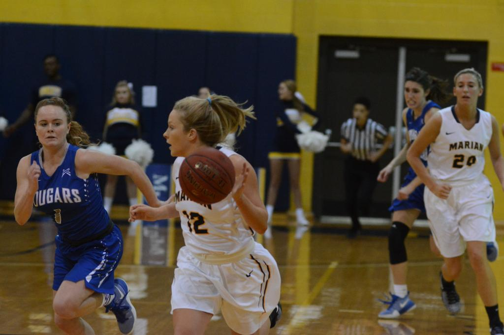 8th WBB vs. St. Francis (Ind.) Photo