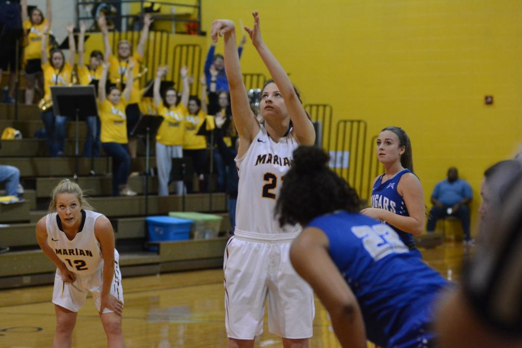 9th WBB vs. St. Francis (Ind.) Photo