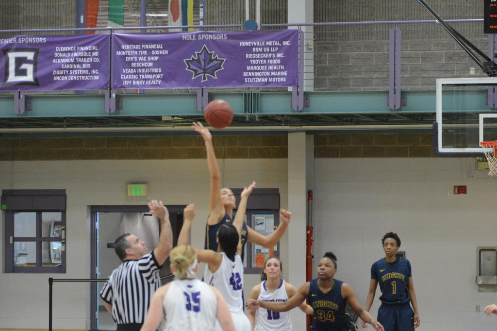 8th WBB at Goshen College 1.21 Photo