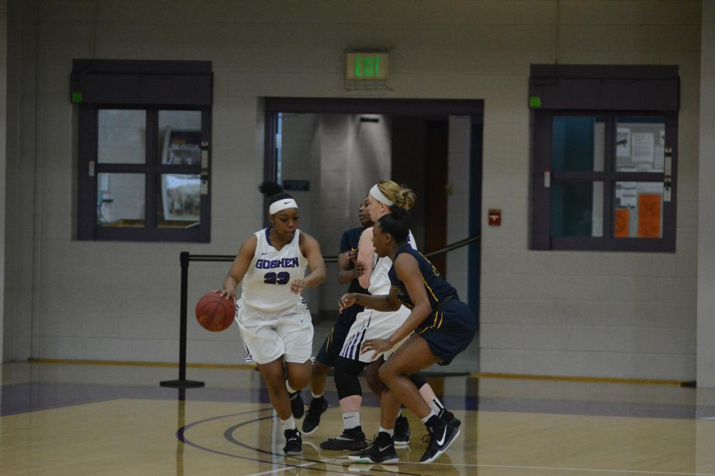 9th WBB at Goshen College 1.21 Photo