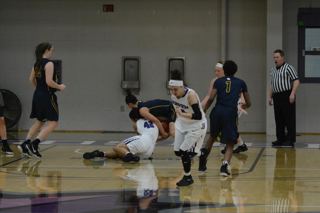 20th WBB at Goshen College 1.21 Photo