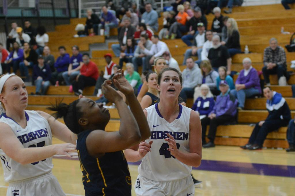 29th WBB at Goshen College 1.21 Photo