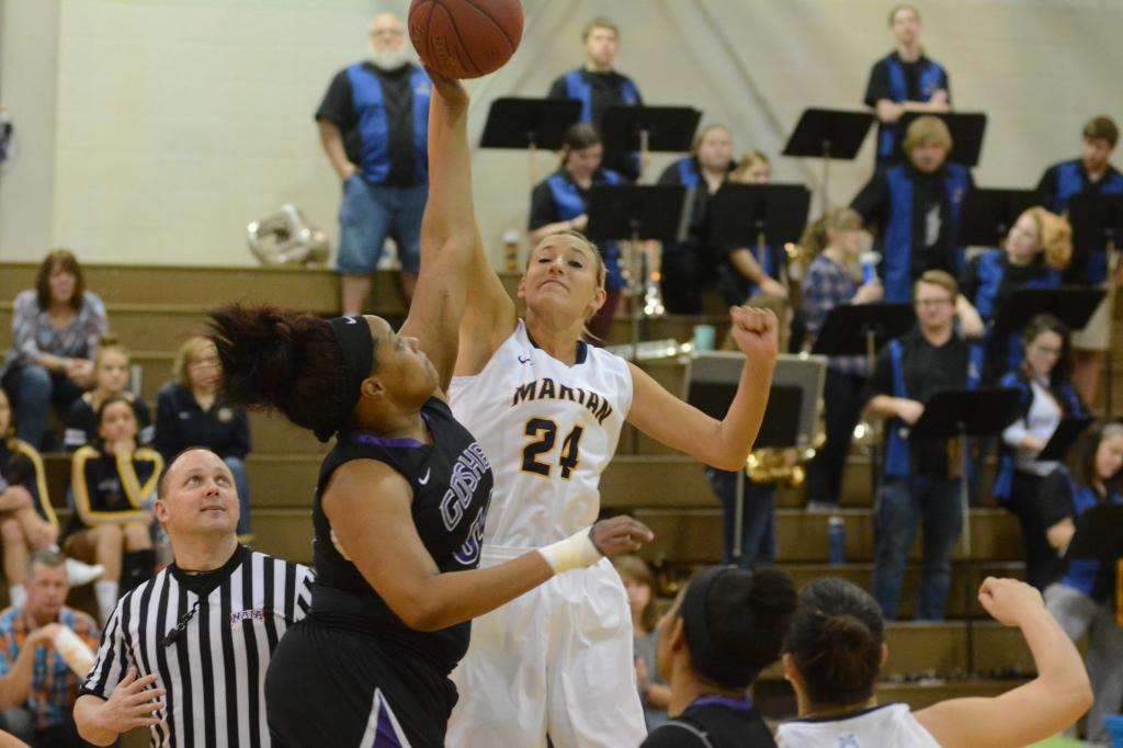 6th WBB vs. Goshen Photo