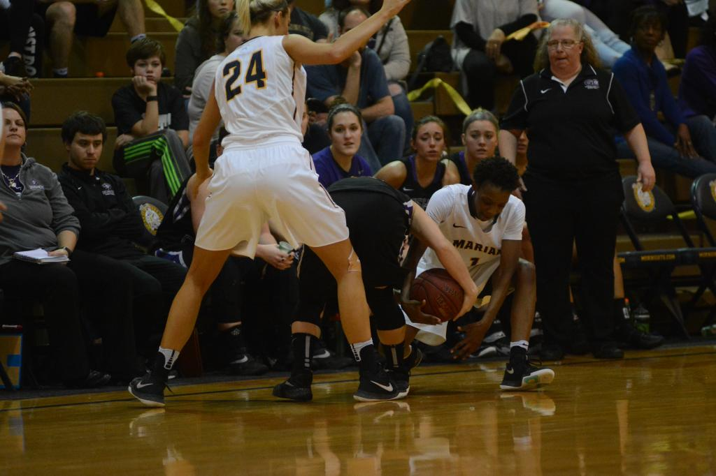 16th WBB vs. Goshen Photo
