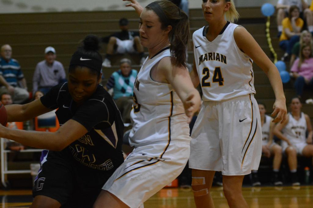 24th WBB vs. Goshen Photo
