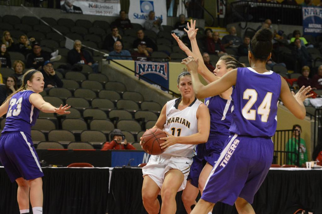 18th NAIA First Round vs. Olivet Nazarene Photo