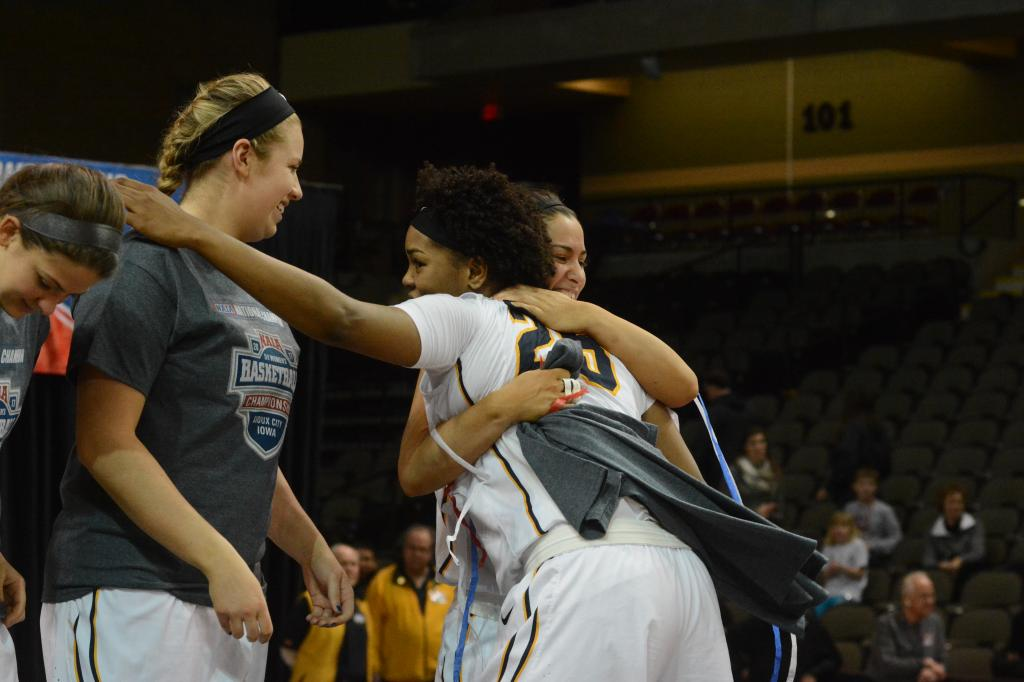 8th WBB Championship Celebration Photo