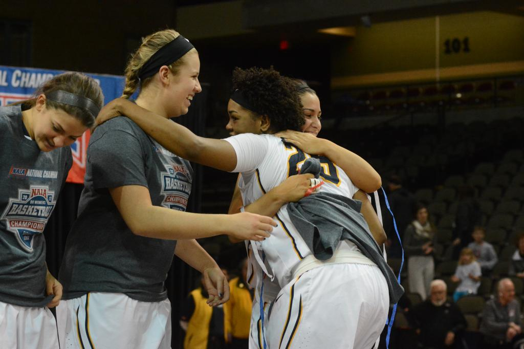 9th WBB Championship Celebration Photo