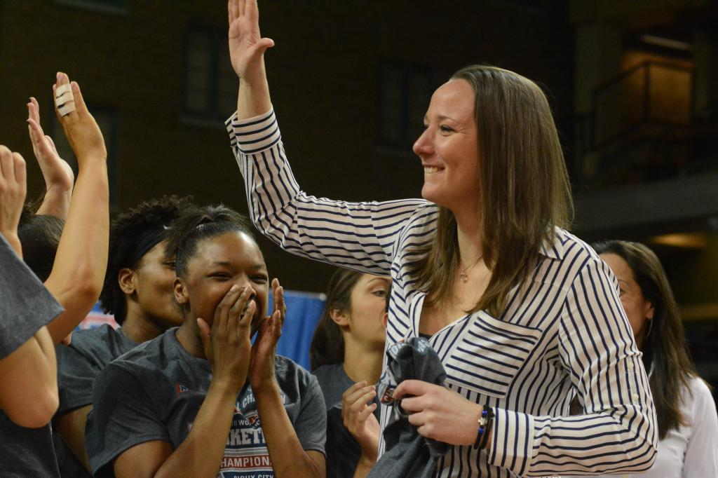 12th WBB Championship Celebration Photo