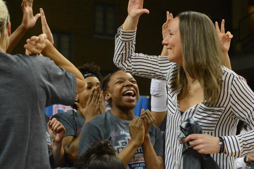 13th WBB Championship Celebration Photo