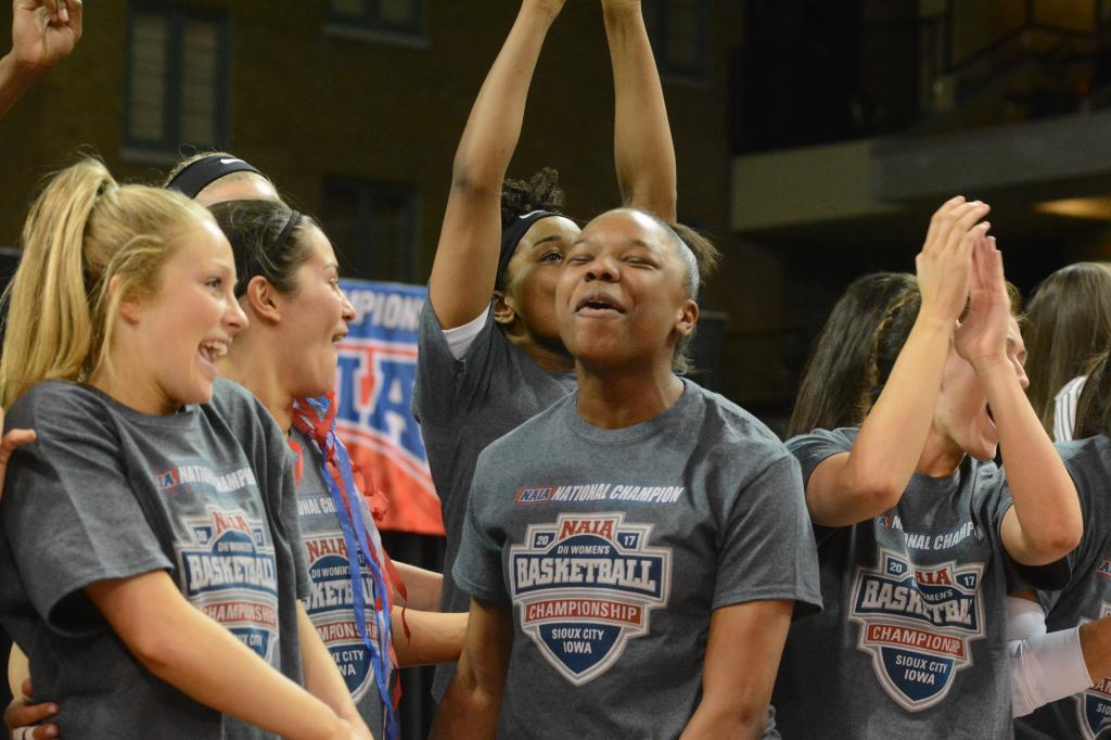 15th WBB Championship Celebration Photo