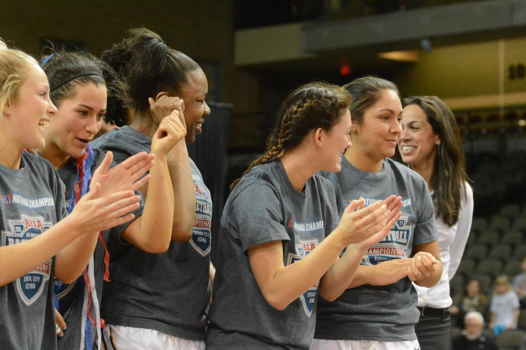 16th WBB Championship Celebration Photo