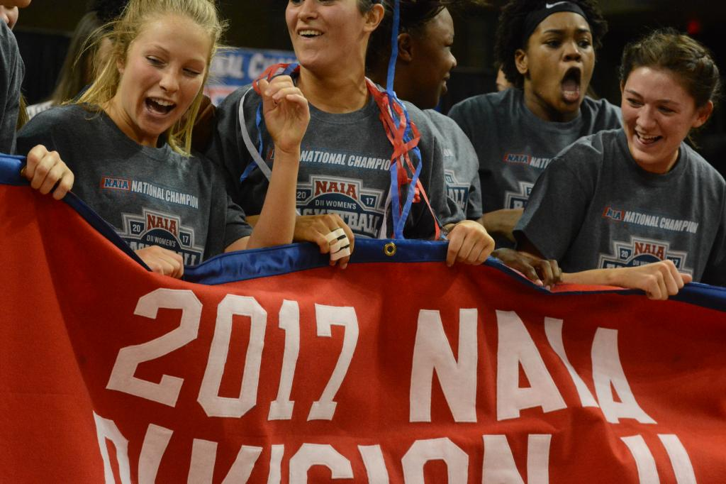 17th WBB Championship Celebration Photo
