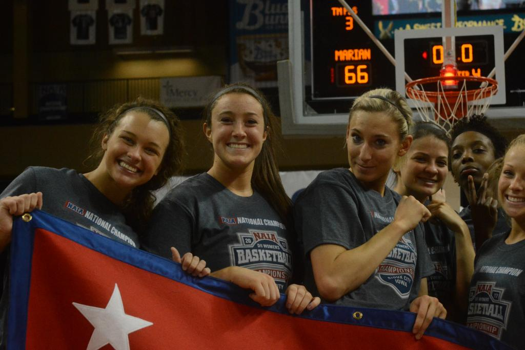 23rd WBB Championship Celebration Photo