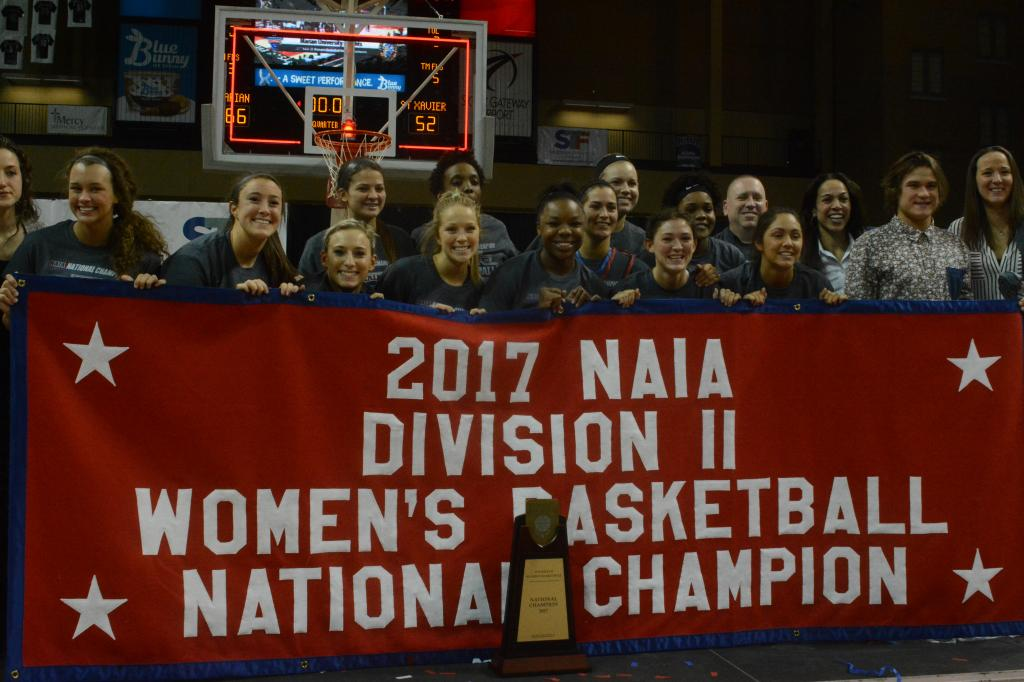 24th WBB Championship Celebration Photo