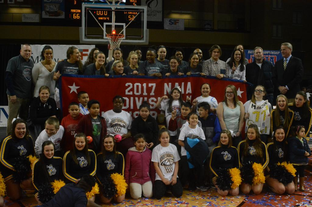 25th WBB Championship Celebration Photo