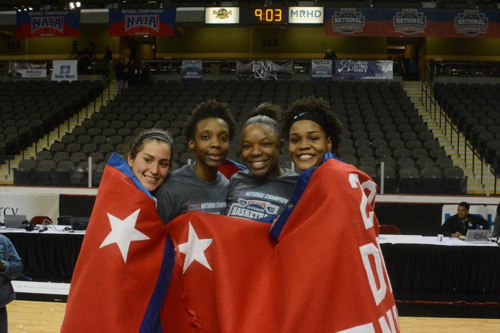 27th WBB Championship Celebration Photo