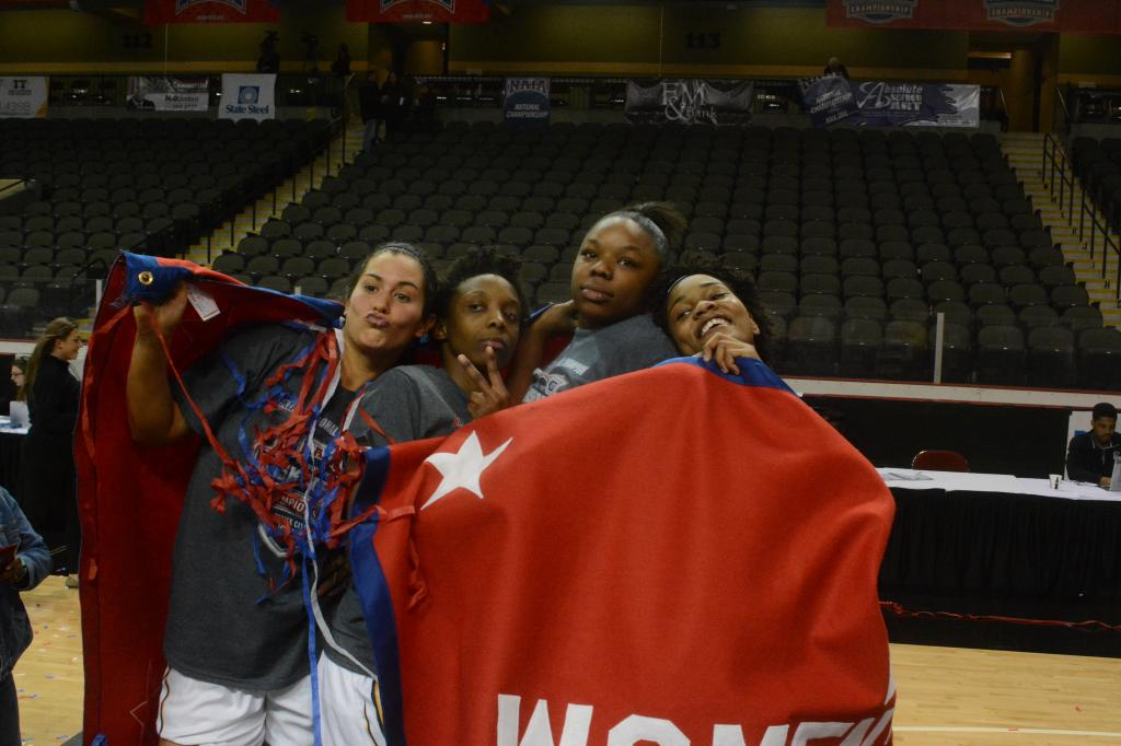 28th WBB Championship Celebration Photo