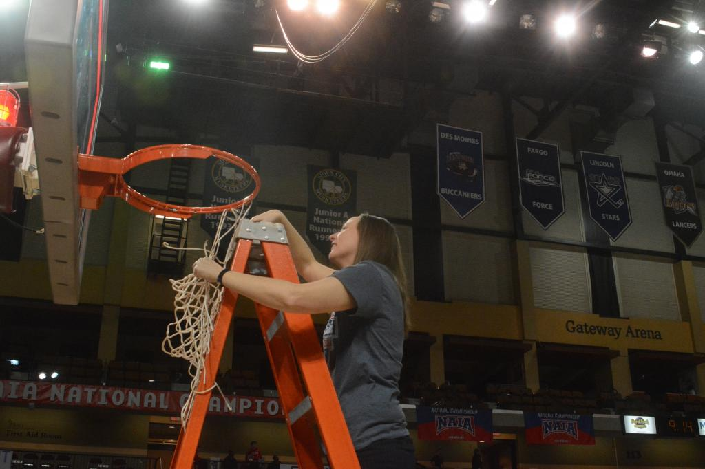 40th WBB Championship Celebration Photo