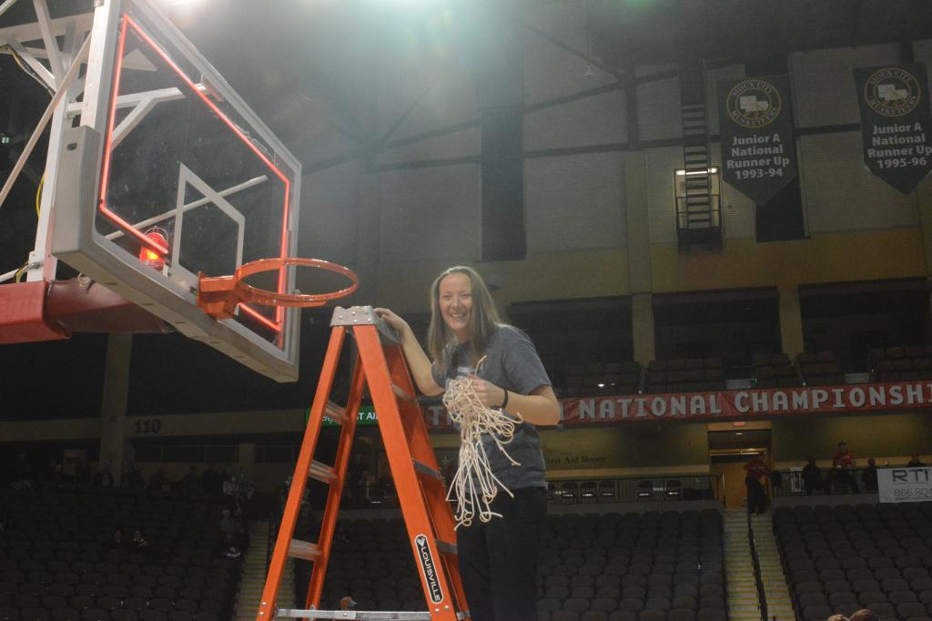 41st WBB Championship Celebration Photo