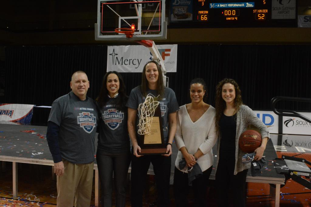 42nd WBB Championship Celebration Photo