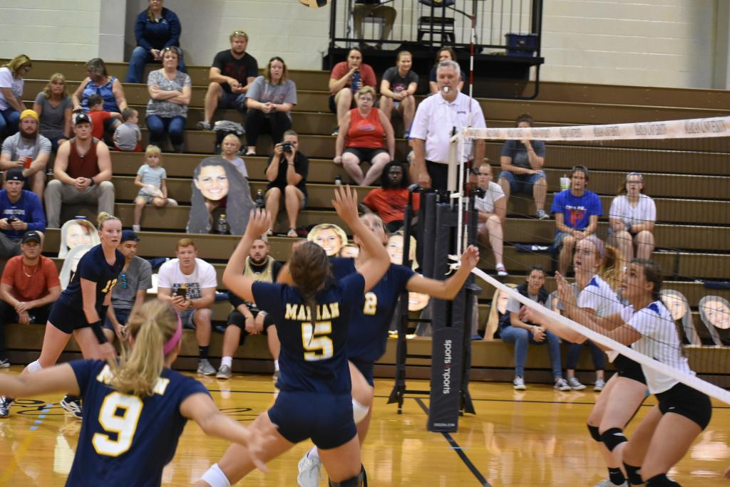 33rd VB vs. Bethel Photo