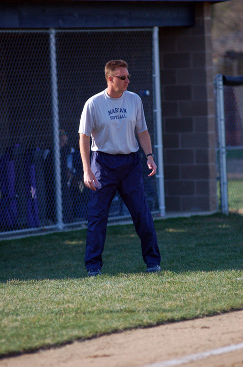 Head coach Scott Fleming