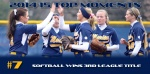 2014-15 TOP MOMENTS #7 - Softball Wins Third League Championship