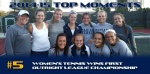 2014-15 TOP MOMENTS #5 - Women's Tennis Wins First Outright League Crown