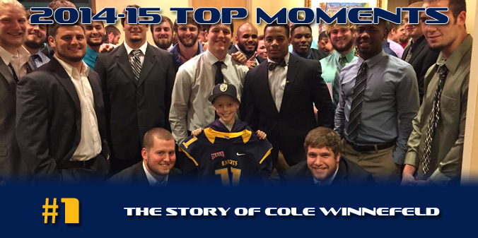 2014-15 TOP MOMENT - Cole Winnefeld