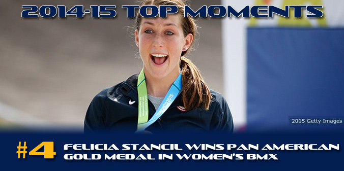 2014-15 TOP MOMENTS #4 - Stancil Wins Pan Am Games Gold