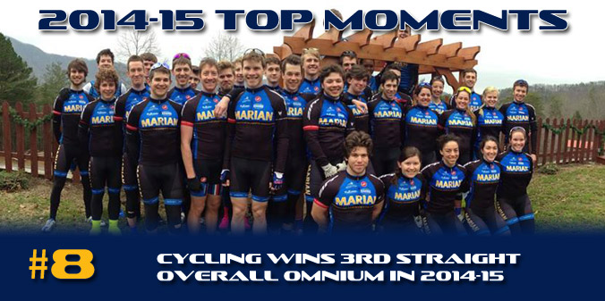 2014-15 TOP MOMENTS #8 - Cycling Wins Third Straight Overall Omnium