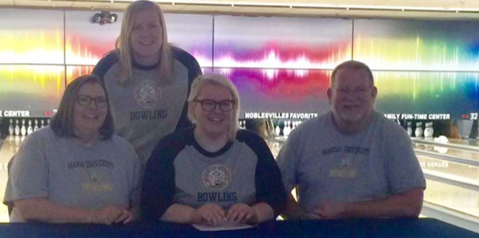 Women's Bowling Signs Emily Forkner