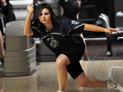 Freshman Marissa Yadron turned in an average of 181 for the Knights at the AHIBC Tournament II on Saturday.