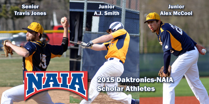 Trio of Knights Earn Daktronics-NAIA Scholar Athlete Honors