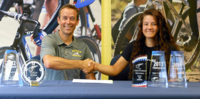 Chloe Dygert Commits to MU Cycling