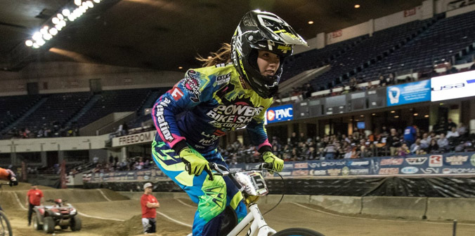 Miller Brings BMX Skills to MU for 2015-16