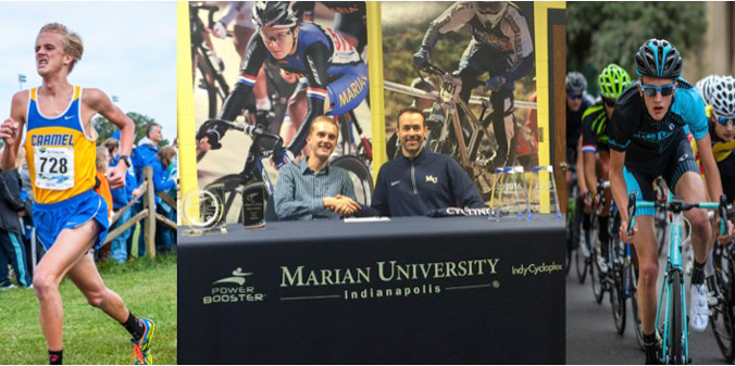 Carmel Standout Commits to Dual-Sport Career at MU