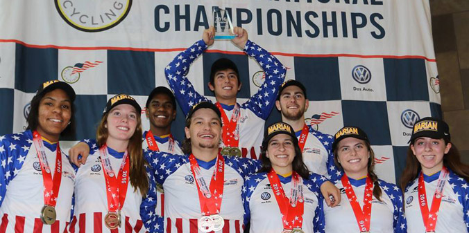 KNIGHTS CLINCH FOURTH STRAIGHT BMX TITLE