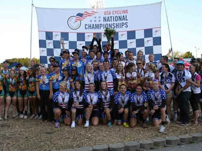 The Knights won their 14th track national title and 16th overall national championship event.