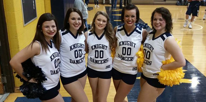 Ammons-Jones Announces 2015-16 Lady Knight Dancers