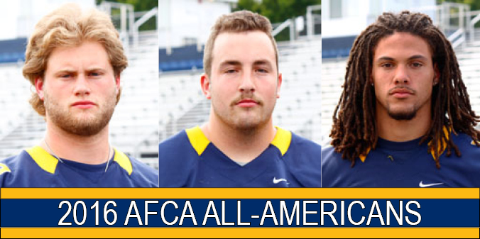 Trio of Knights Earn AFCA All-America Honors