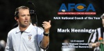 HENNINGER NAMED AFCA-NAIA NATIONAL COACH OF THE YEAR
