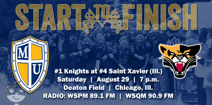 GAME PREVIEW: #1 Knights at #4 Saint Xavier